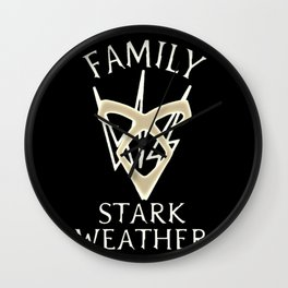 family starkweather Wall Clock
