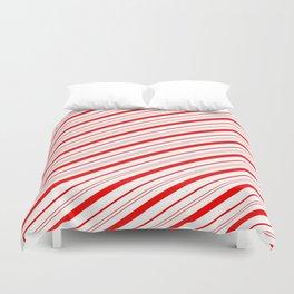 Candy Cane Stripes Duvet Cover