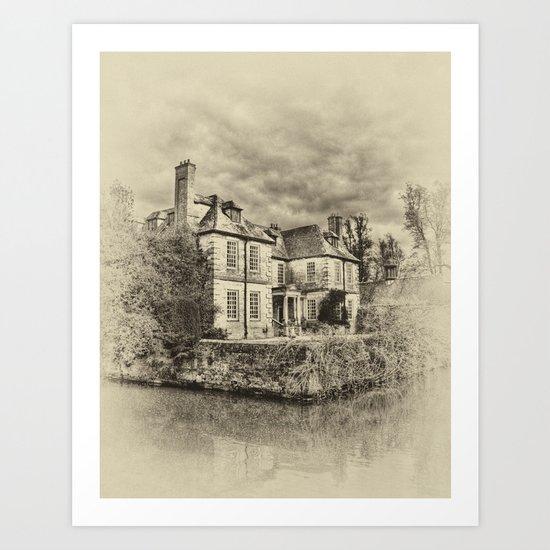 Ole England Art Print