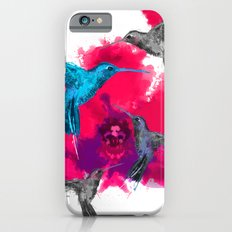 Pink hum orchid explosion  iPhone 6s Slim Case