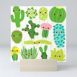 Succulent, succulent, succulent Mini Art Print