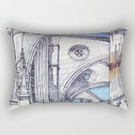 bATALHA mONASTERy Rectangular Pillow