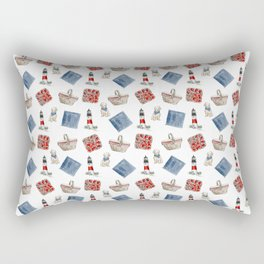Patriotic Picnic Rectangular Pillow