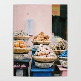 "Travel photography print ""Souks of Marrakech"" | Morocco photo print art | Wanderlust wall art Poster"