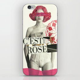 c´est rose iPhone Skin