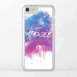 WE ARE APOGEE Clear iPhone Case