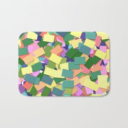 Abstract Cards Bath Mat