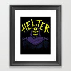 Helter Skeletor Framed Art Print