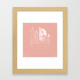 Sailing House Framed Art Print