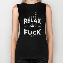 Relax Refix Biker Tank