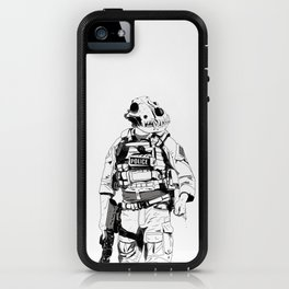 K9 B&W iPhone Case