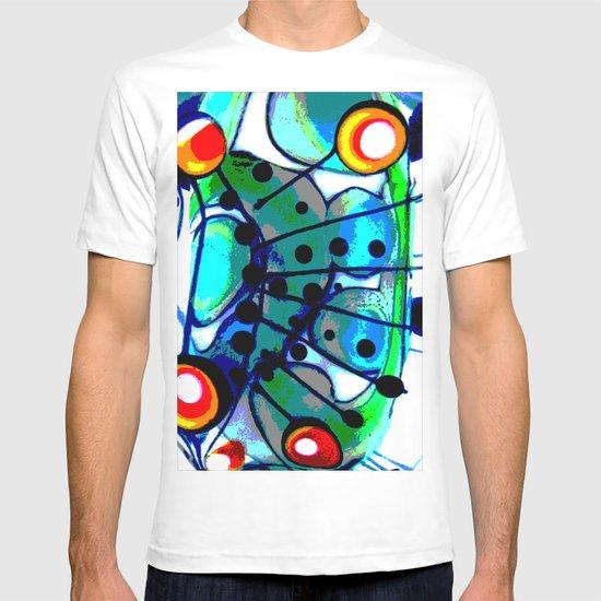 Abstract Explotion T-shirt