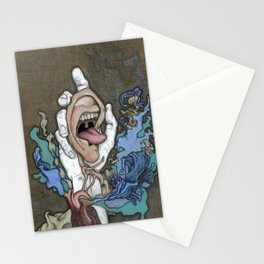 The Ear Feeds the Heart Which Fuels the Soul Stationery Cards