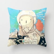 Logic will get you from A to B. Imagination will take you everywhere. Throw Pillow