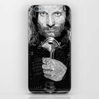 aragorn iPhone & iPod Skins featuring Aragorn by Rik Reimert