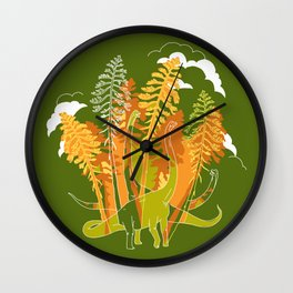 Brachio Grove Wall Clock