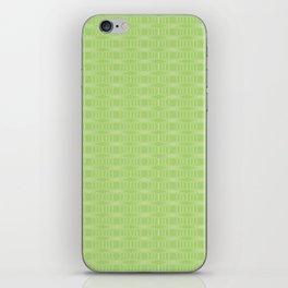 hopscotch-hex bright green iPhone Skin