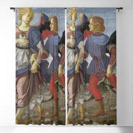 Andrea del Verrocchio - Tobias and the Angel Blackout Curtain