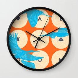 Walk the Moon Wall Clock