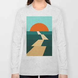 Abstract landscape XIII Long Sleeve T-shirt