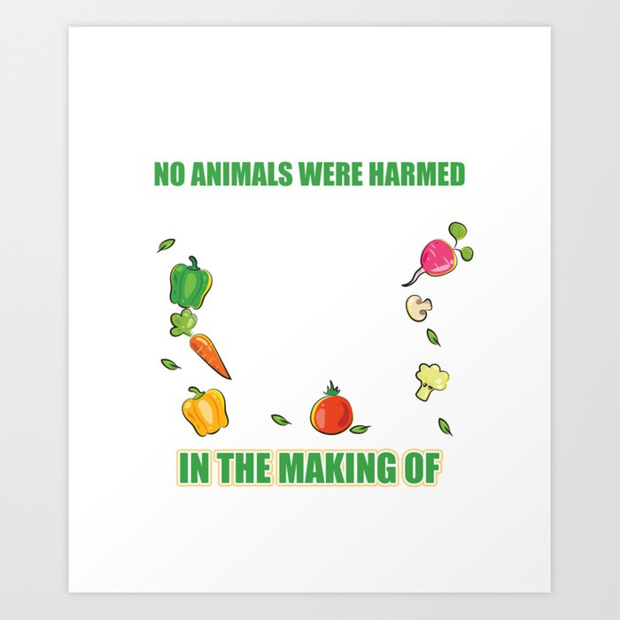 fa8e7b32 Meaning Shirt For Vegan. Gift Ideas For Dad/Mom. Art Print by ip ...