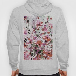 Floral Expression 2p by Kathy Morton Stanion Hoody