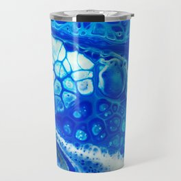 Blue cells Travel Mug