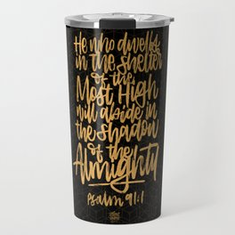 In the Shelter of the Most High Travel Mug