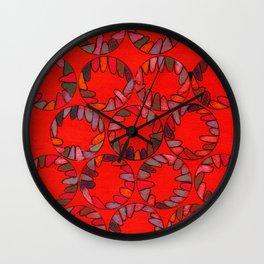 Refugees Wall Clock