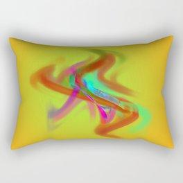 el placa de colore Rectangular Pillow