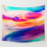 aurora Wall Tapestries featuring Aurora by Kimsey Price