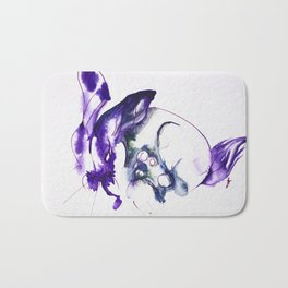 Rabbit Dance Bath Mat