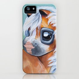 Haflinger Beauty iPhone Case
