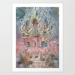 Attic Art Print