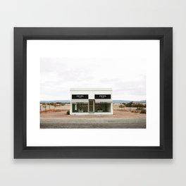 Highway 90 Framed Art Print