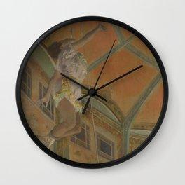 Miss La La at the Cirque Fernando Wall Clock