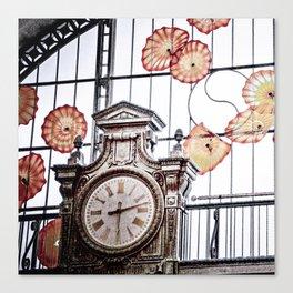 Union Station Clock Canvas Print