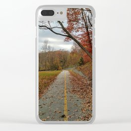 Let your nature lead the way Clear iPhone Case