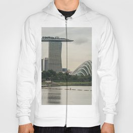 View of Marina Bay Sands and Gardens by the Bay Hoody