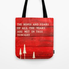 Hopes and Fears Tote Bag