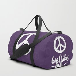 Peace & Good Vibes Only Duffle Bag