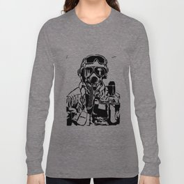 Reluctant/Fuck Your Face Long Sleeve T-shirt