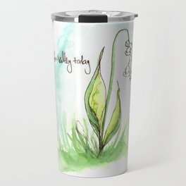 Journal Entry: Lily of the Valley Travel Mug