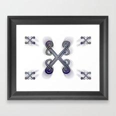 X's Framed Art Print