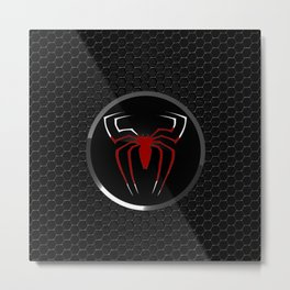 Spider Logo Metal Print