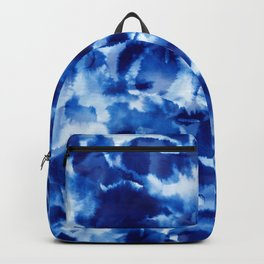 blue tie dye Backpack