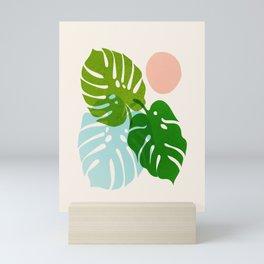 Abstraction_FLORAL_NATURE_Minimalism_001 Mini Art Print