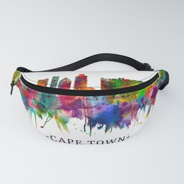 Cape Town South Africa Skyline Fanny Pack