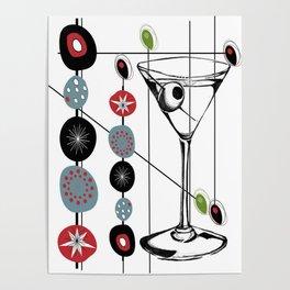 Mid-Century Modern Art Atomic Cocktail 3.0 Poster