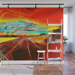 Railroad to the world. Wall Mural